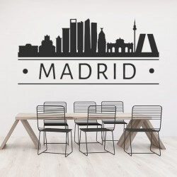 Sticker adhésif Madrid