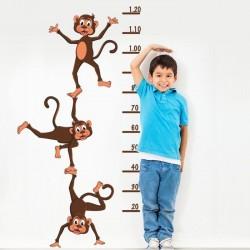 Sticker enfant de singes