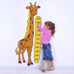 Sticker enfant girafe 1