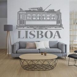 Sticker adhésif Lisboa