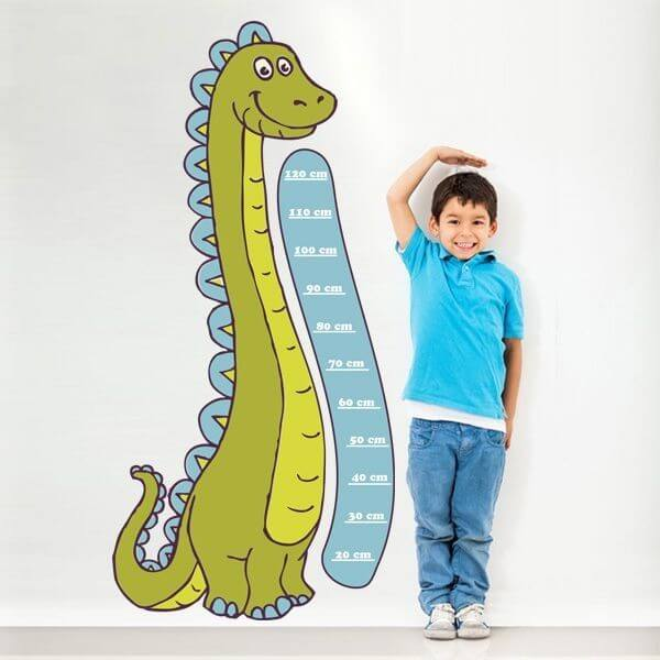 Sticker toise enfant