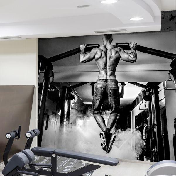 Photo murale salle de gym