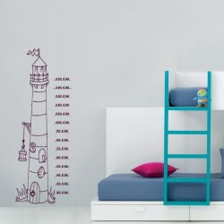 Sticker phare enfant