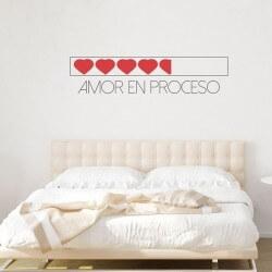 Sticker amour en processus