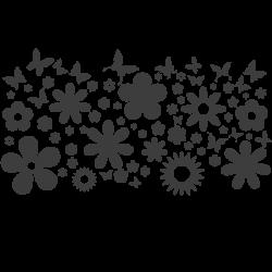 Porte manteau de fleurs