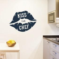 Sticker kiss the chef