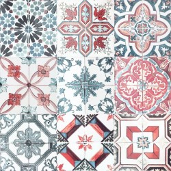 Sticker tuiles marocaines