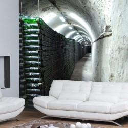 Déco murale cave à vin