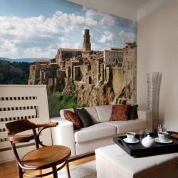 Papier peint Pitigliano Italia