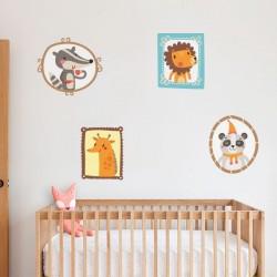 Cadres adhésifs pour bébé