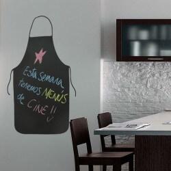 ... Sticker Tablier De Cuisine En Ardoise ...