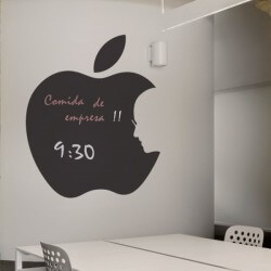 Sticker pomme Steve Jobs
