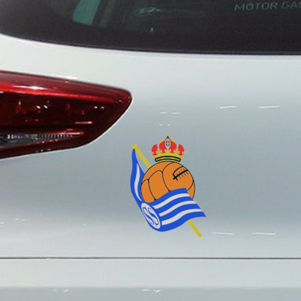 Sticker pour voiture Real Sociedad
