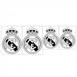 Autocollant bouclier du Real Madrid