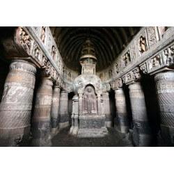 Papier peint grottes d'Ajanta