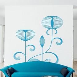 Autocollant mural floral 6