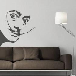 Sticker mural Salvador Dalí