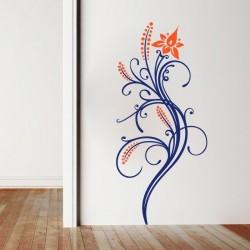 Adhésif mural  floral 5