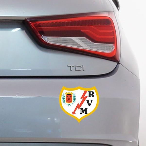 Sticker voiture Rayo Vallecano