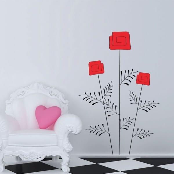 Sticker floral 11