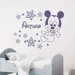 Sticker Mickey Mouse bébé