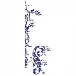 Adhésif déco floral 2
