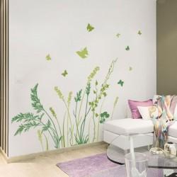 Adhésif mural papillons 1