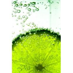 Sticker cuisine avec citron vert