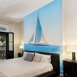 Déco murale voilier
