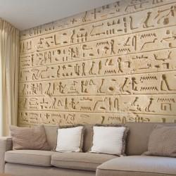 Adhésif mural hiéroglyphe