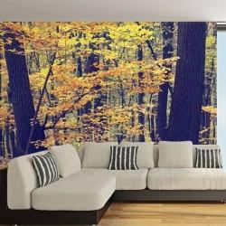Adhésif mural forêt à...