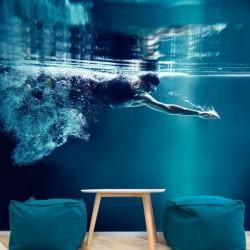 Photo murale natation
