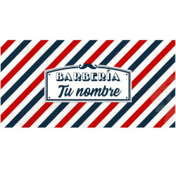 Stickers salon de coiffure