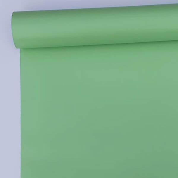 Adhésif au mètre vert pastel