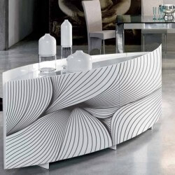 Sticker meubles lignes...