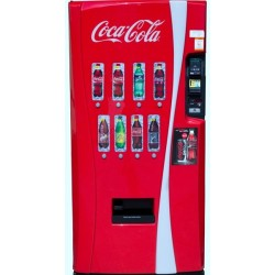 Sticker machine Coca-Cola