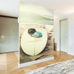 Papier peint planche de surf
