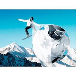 Photo murale snowboard
