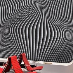Déco murale perspective 3D