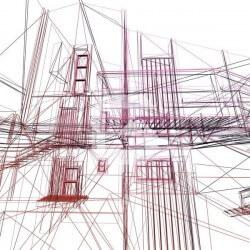 Papier peint dessin de projet