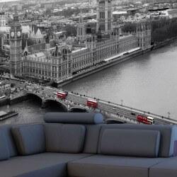 Londres noir et blanc