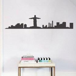 Sticker skyline Rio de Janeiro