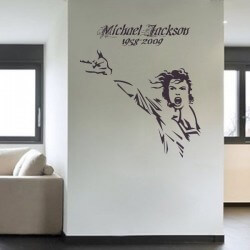 Sticker de Michael Jackson 1