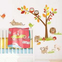 Sticker enfant petits animaux