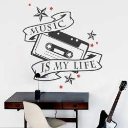 Sticker music is my life
