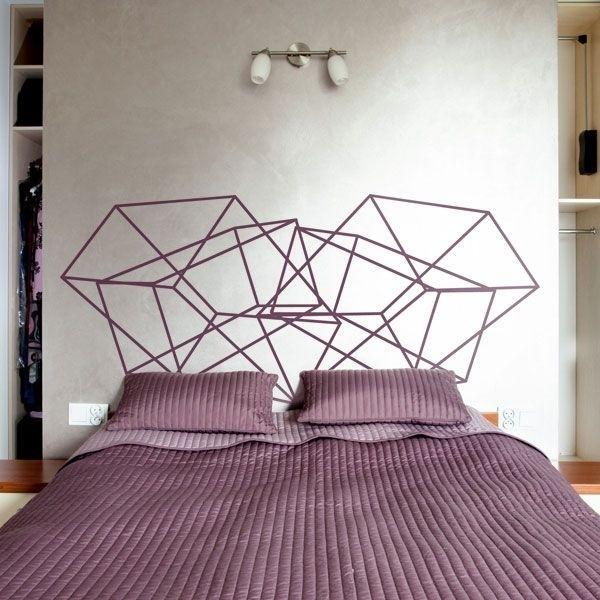 Sticker tête de lit 3D