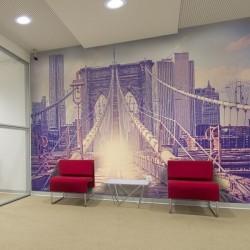 Déco murale pont de Brooklyn