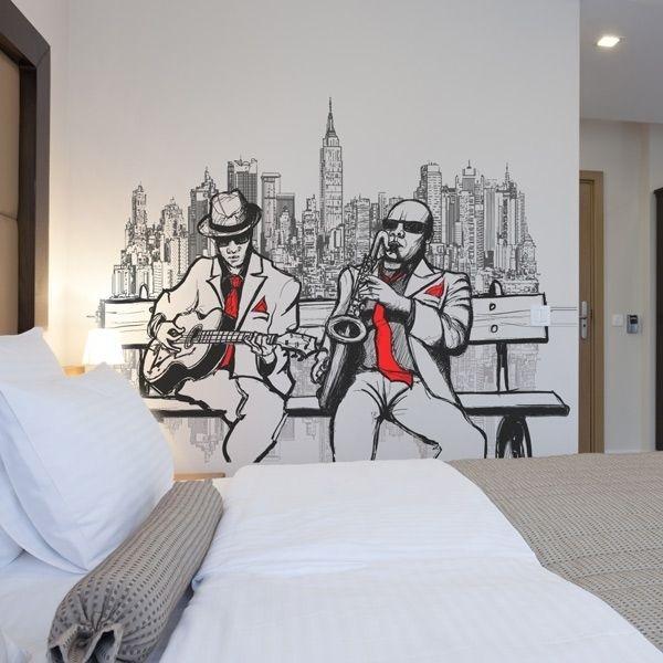 Papier peint New York jazz