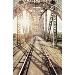 Papier peint pont ferroviaire