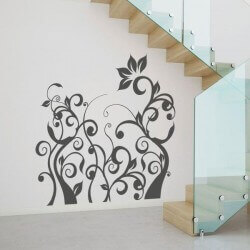 Adhésif mural de branches